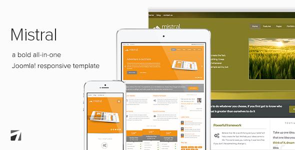 Mistral - Responsive Joomla Template - Corporate Joomla