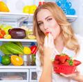 Eating tasty strawberries - PhotoDune Item for Sale