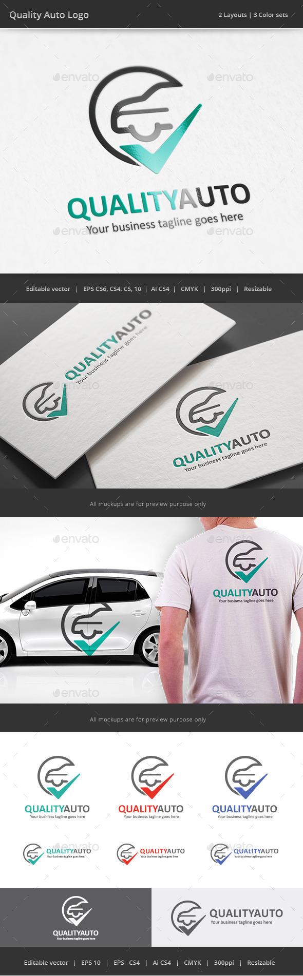 GraphicRiver Quality Auto Logo 10644247