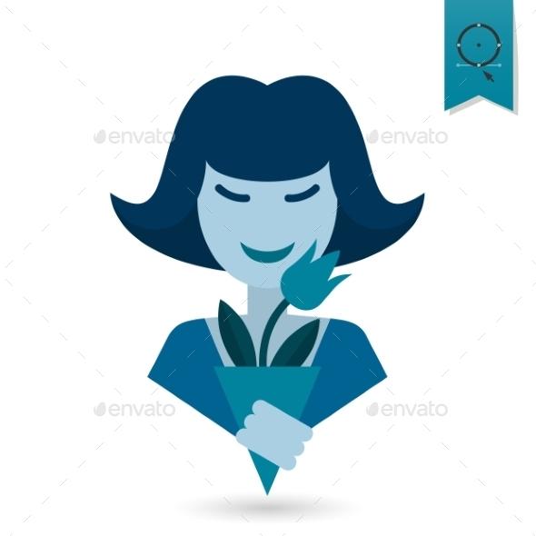GraphicRiver Womans Day Icon 10645210
