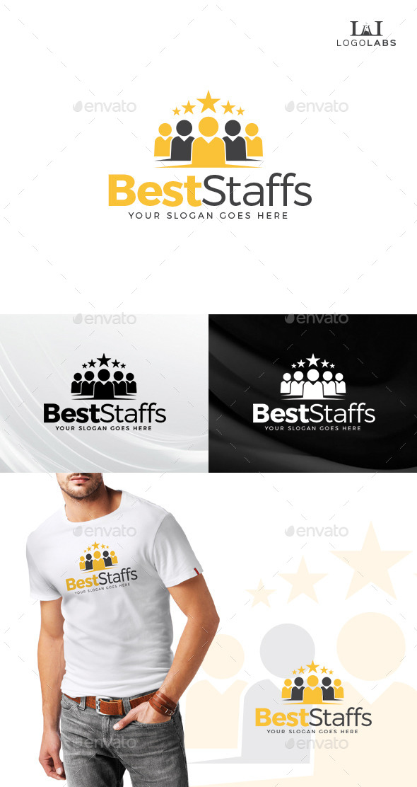 GraphicRiver Best Staffs Logo 10645426