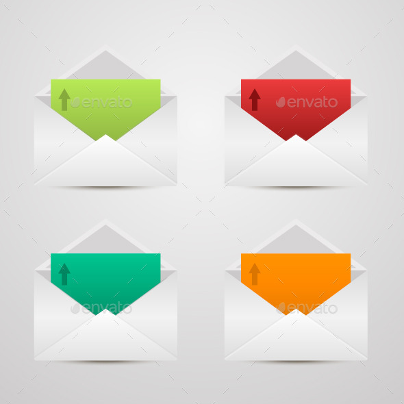 GraphicRiver Paper Envelopes 10645598