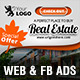 Real Estate Web & FB Ads - GraphicRiver Item for Sale