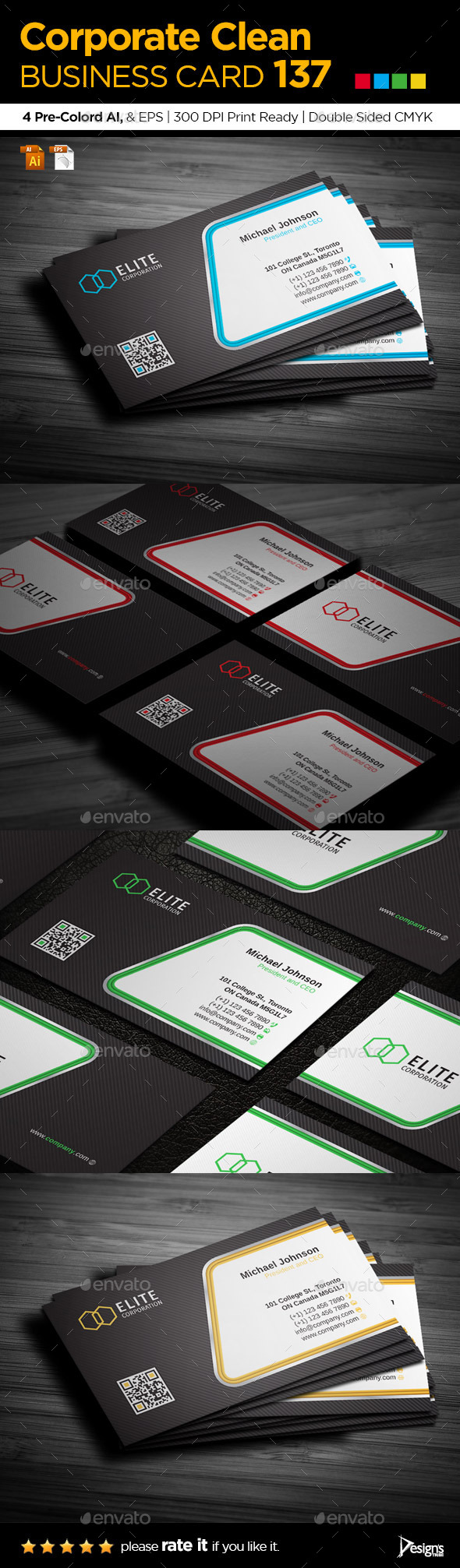 GraphicRiver Business Card 137 10646479
