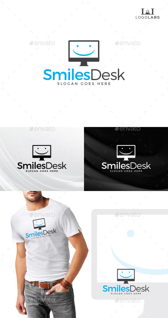 GraphicRiver Smiles Desk Logo 10646500