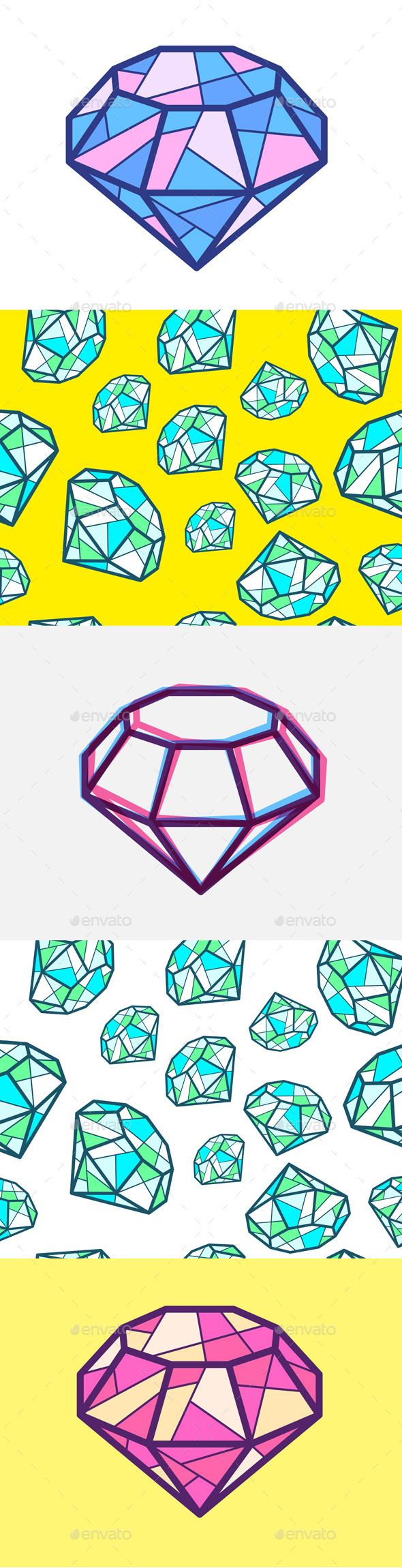 GraphicRiver Diamonds 10646935