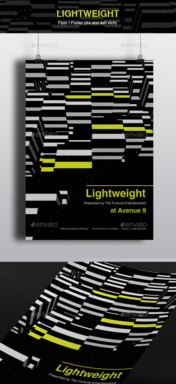 GraphicRiver Lightweight Flyer and Poster 10646939