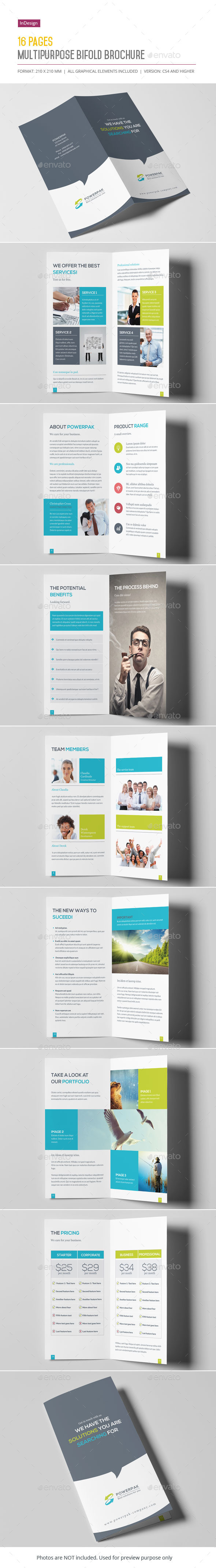 GraphicRiver Multipurpose Bifold Brochure 10646978