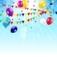 Colored Balloons Background - GraphicRiver Item for Sale
