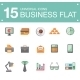 Flat Business Icons - GraphicRiver Item for Sale