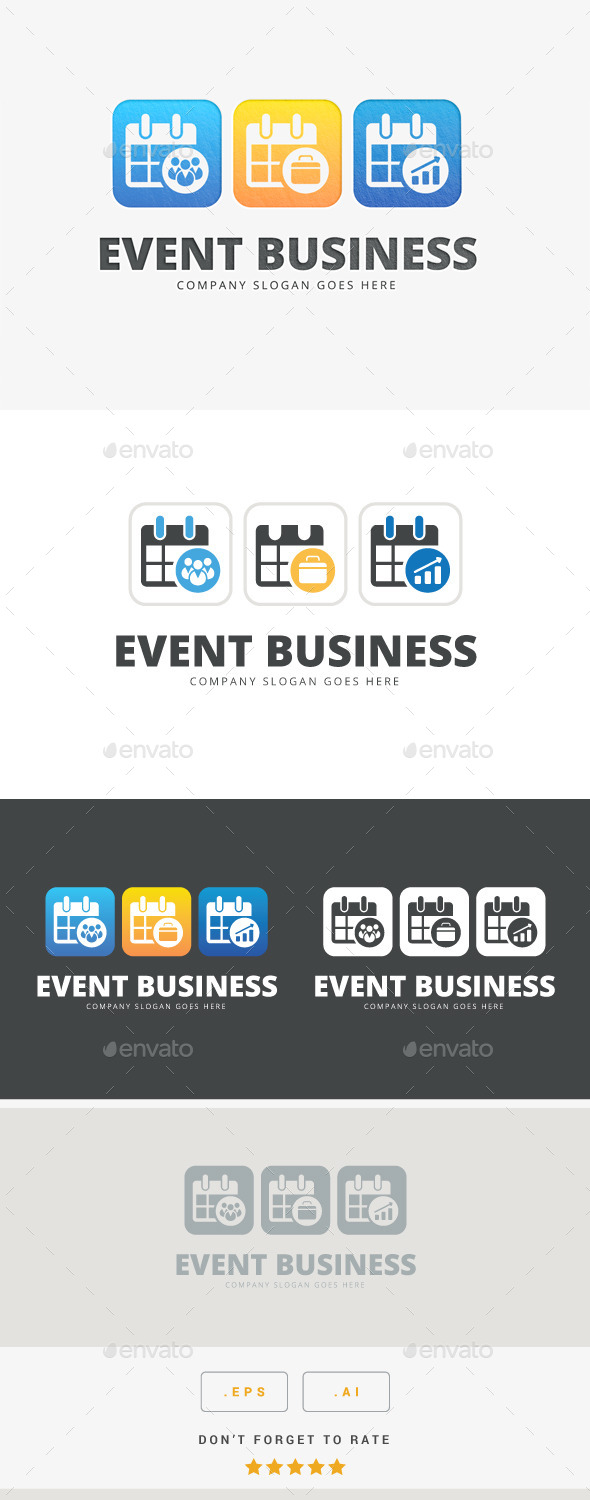 GraphicRiver Event Business Logo 10585958