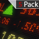 Stock Market Exchange Rate Board-5 Pack - VideoHive Item for Sale