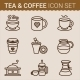 Set of Coffee Icons. Vector illustration - GraphicRiver Item for Sale