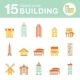 Set of Icons Houses - GraphicRiver Item for Sale