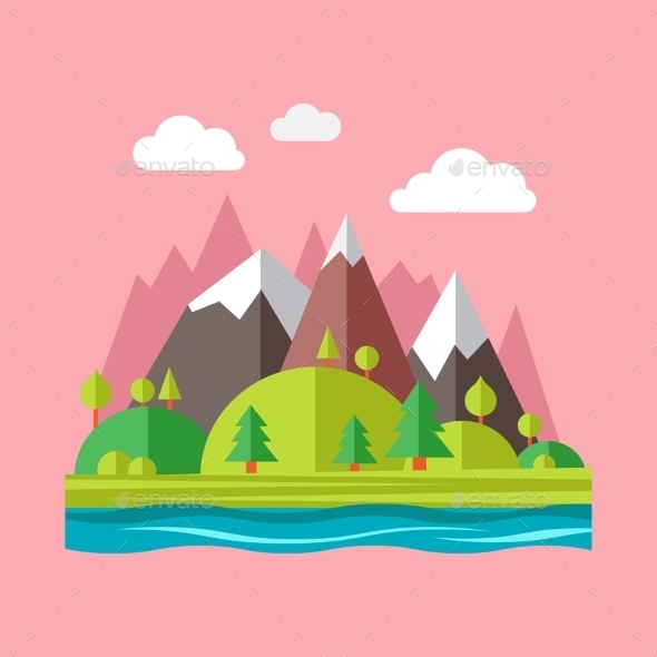 GraphicRiver Landscape Concept 10647530