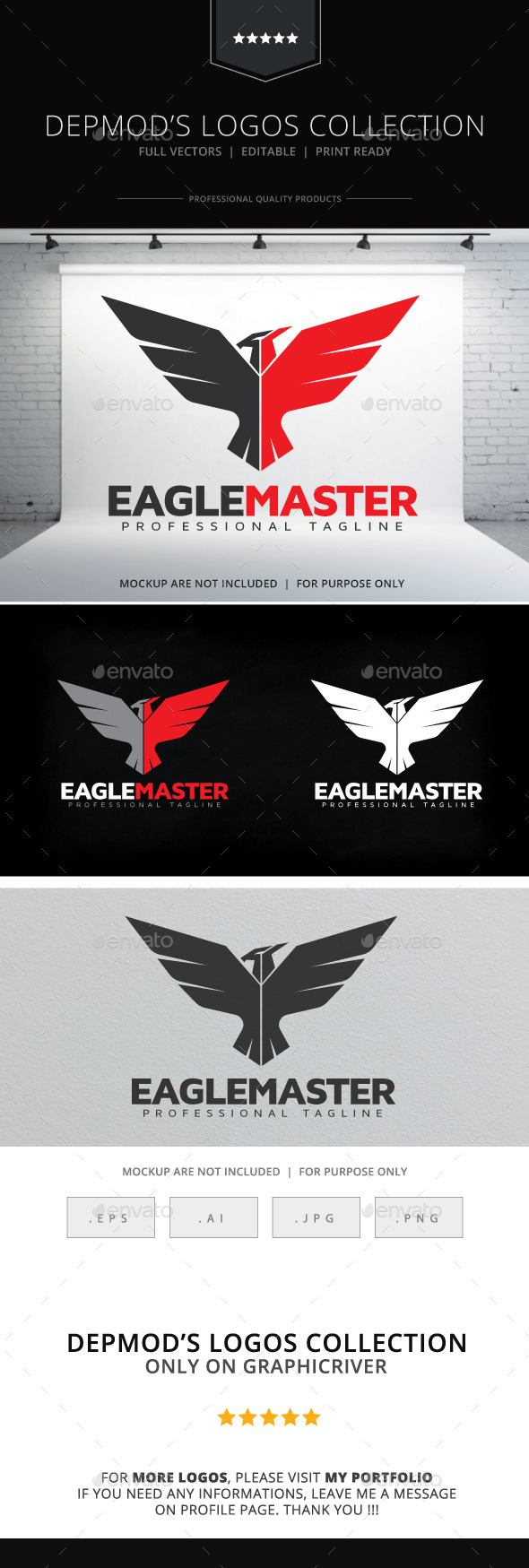 GraphicRiver Eagle Master Logo 10647536