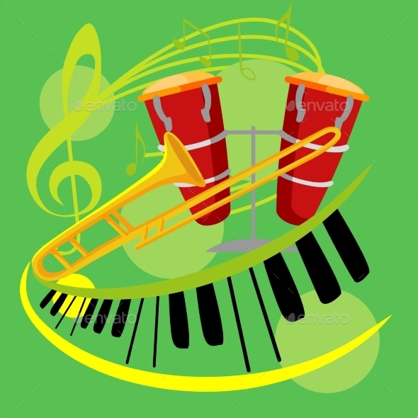 GraphicRiver Music Collection 10647544