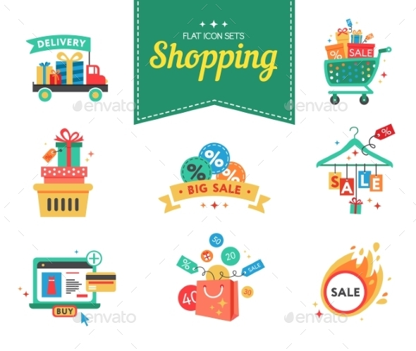 GraphicRiver Shopping Concept 10647585