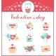 Valentines Day Symbols  - GraphicRiver Item for Sale