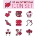 Valentines and Love Icons  - GraphicRiver Item for Sale