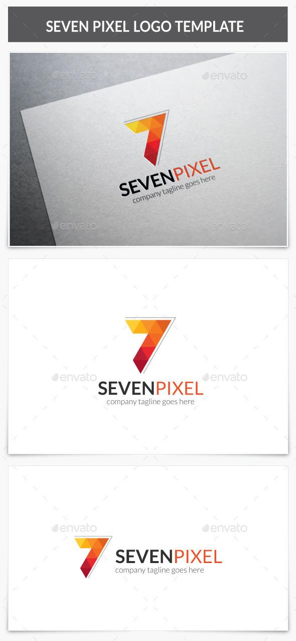 GraphicRiver Seven Pixel Logo 10647793