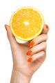 Female Hand Holding a Luscious Healthy Lemon - PhotoDune Item for Sale