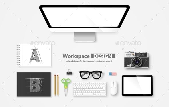 GraphicRiver Workspace 10647879