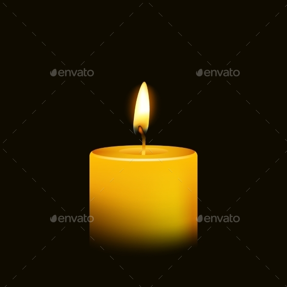 GraphicRiver Candle 10647950