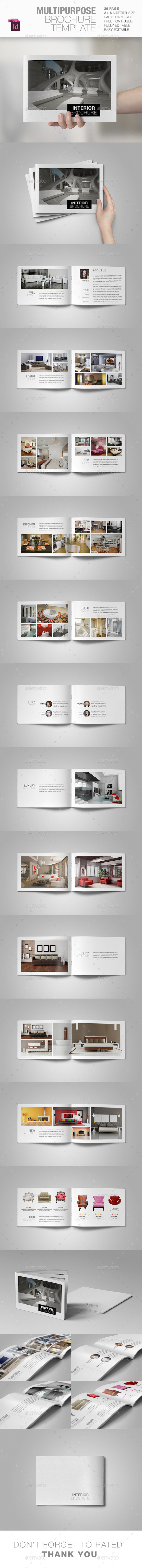 GraphicRiver Multipurpose Brochure Template 10648195