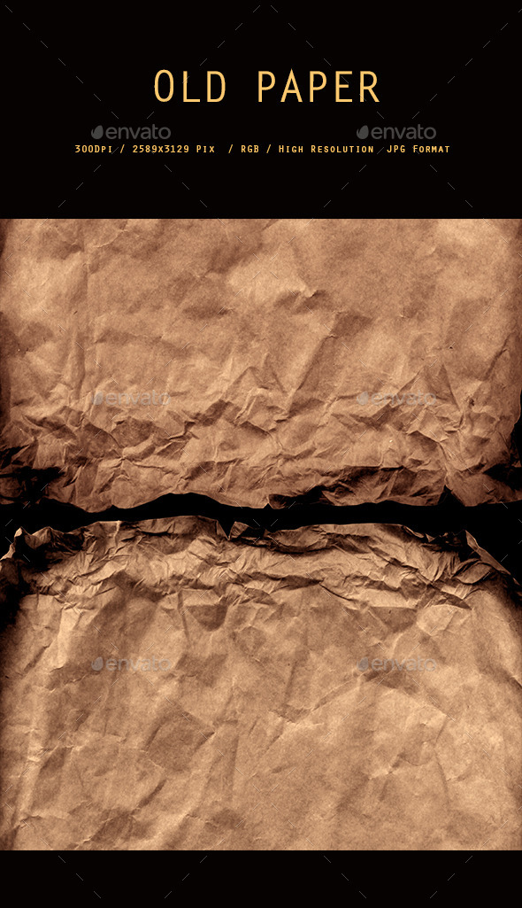 GraphicRiver Crushed Brown Paper 0117 10648208
