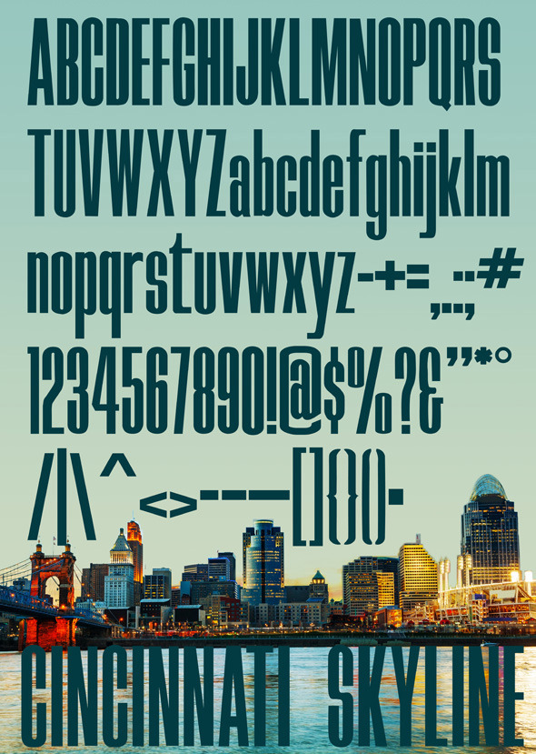 GraphicRiver Skyline Typeface 10648228