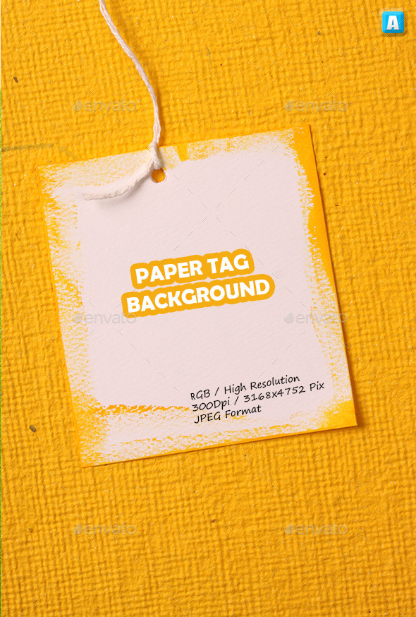 GraphicRiver Paper Tag Background 0113 10648355