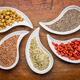superfood collection in teardrop bowls - PhotoDune Item for Sale