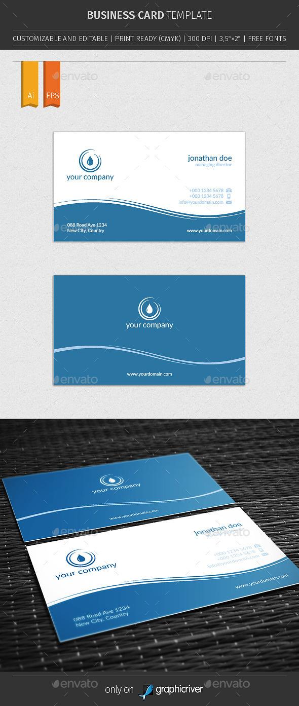 GraphicRiver Business Card V03 10648521