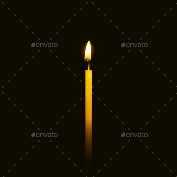 GraphicRiver Candle Flame 10648799