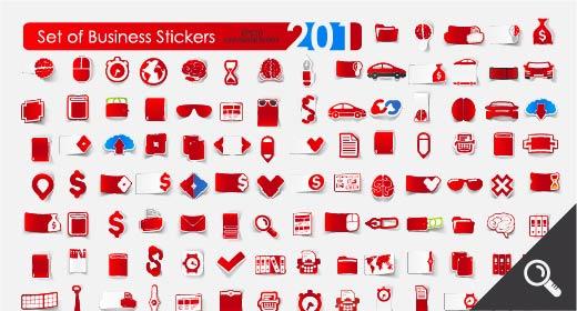 Sticker icons