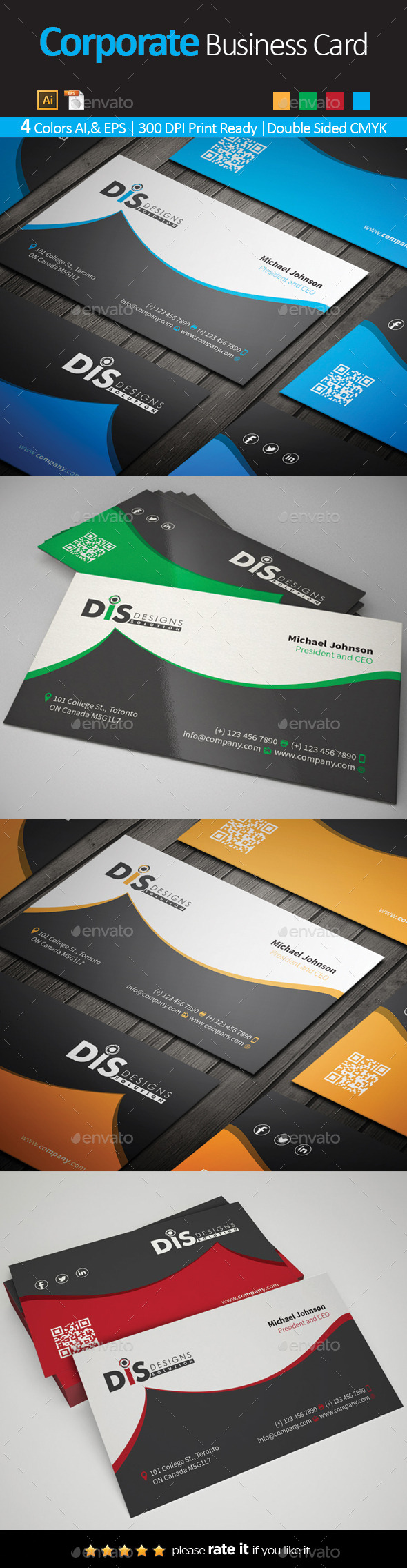 GraphicRiver Business Card 10649457
