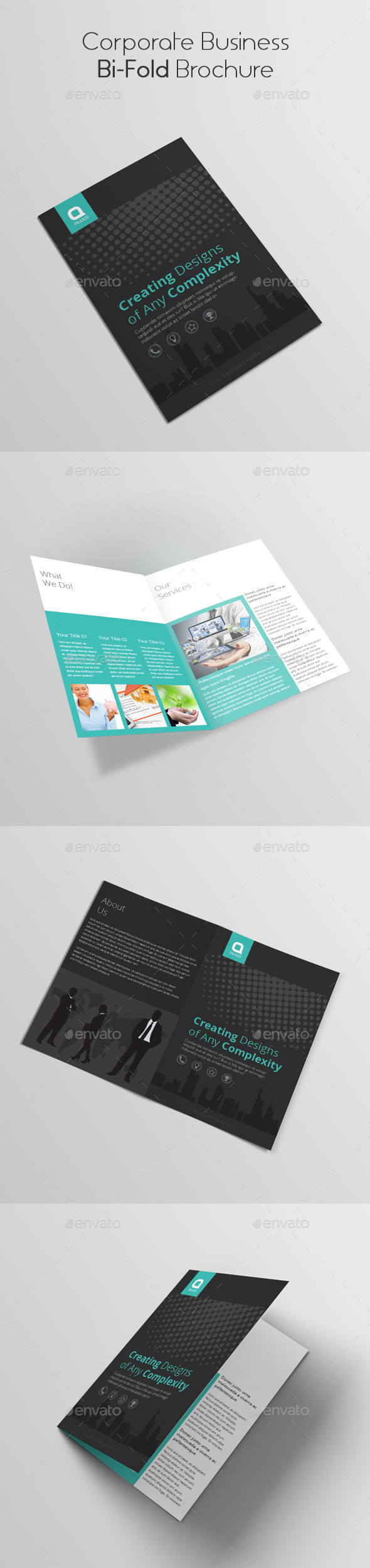 GraphicRiver Corporate Business Bi-Fold Brochure 10649781