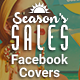 Facebook Timeline Covers - Season's Sales - GraphicRiver Item for Sale