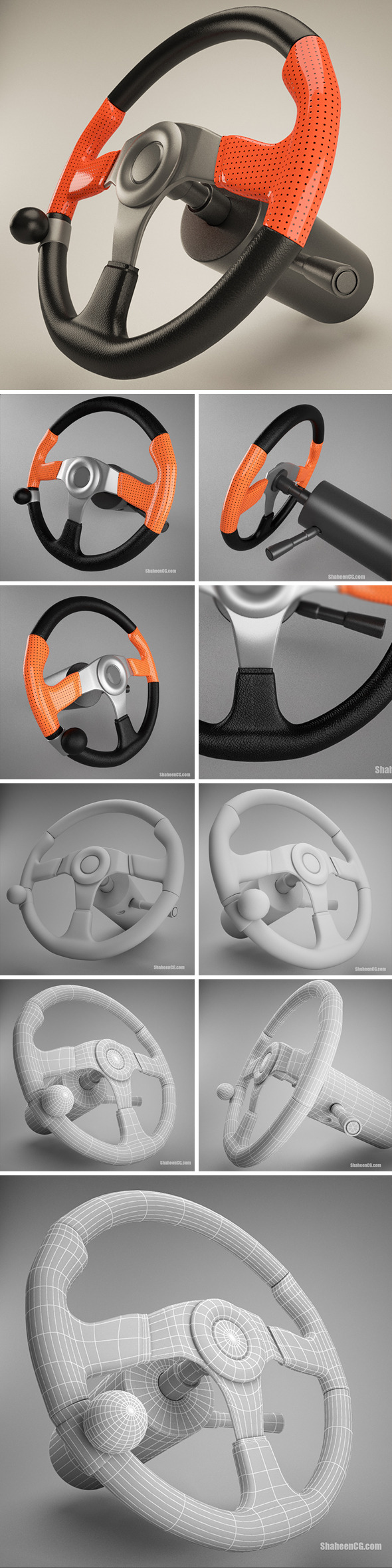 3DOcean Steering Wheel 10649939