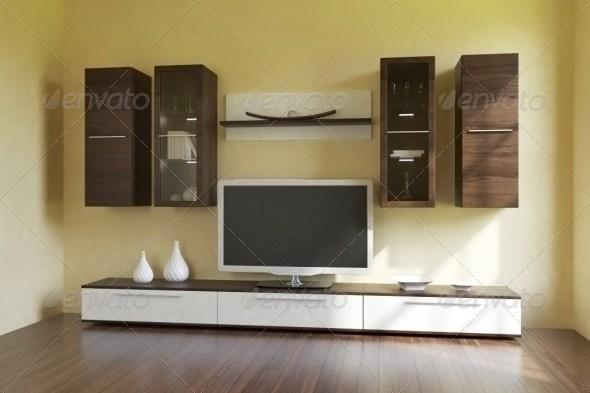 3DOcean High Poly LivingWall & PhilipsTV Texture Vray Mat 133357