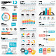 Infogrpahic Vector Templates Collection 12 - GraphicRiver Item for Sale