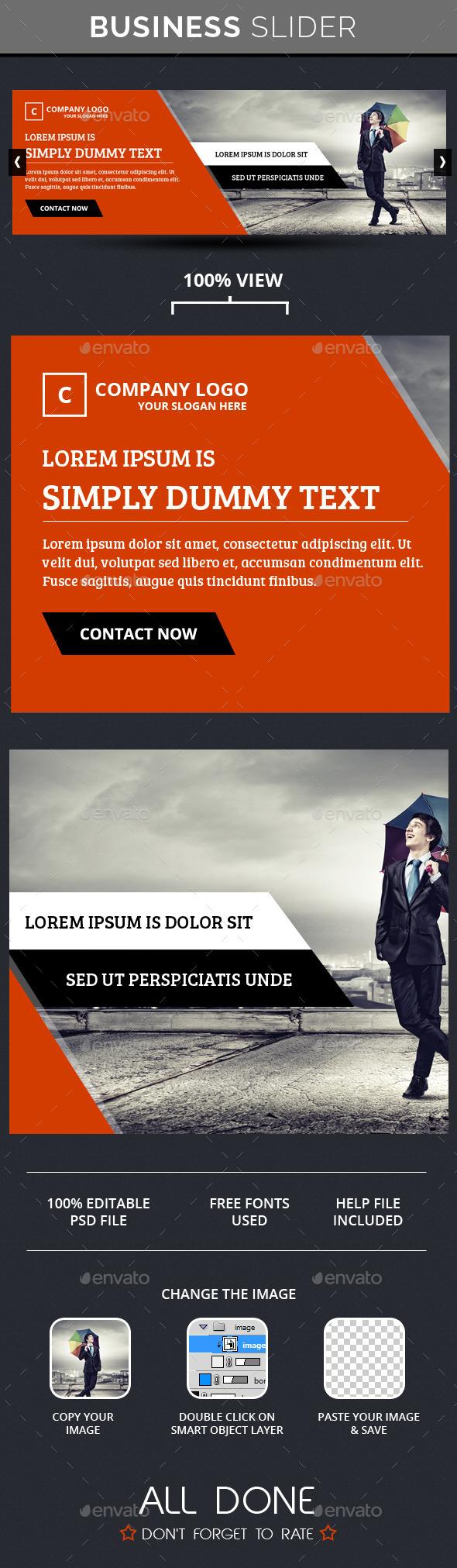 GraphicRiver Business Slide V6 10650144