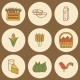 Farm Products Hand Drawn  - GraphicRiver Item for Sale