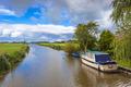 Boating Landscape Ritsumazijl, Friesland, Netherlands - PhotoDune Item for Sale