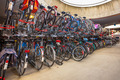 parked bicycles at central station - PhotoDune Item for Sale