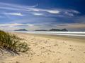White Sand Beach With Beautiful Blue Sky at Waipu, New Zealand - PhotoDune Item for Sale
