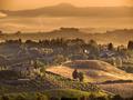 Tuscany Village landscape Scene near Volterra - PhotoDune Item for Sale