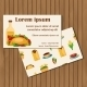 Mexican Food Cards  - GraphicRiver Item for Sale