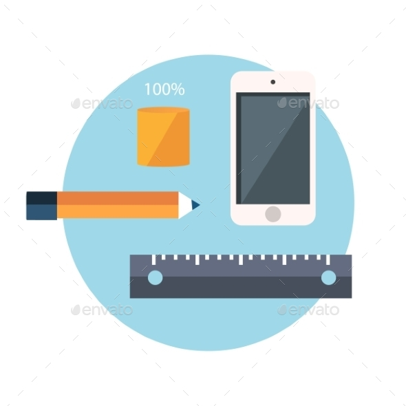 GraphicRiver Smartphone and Office Supplies 10652228